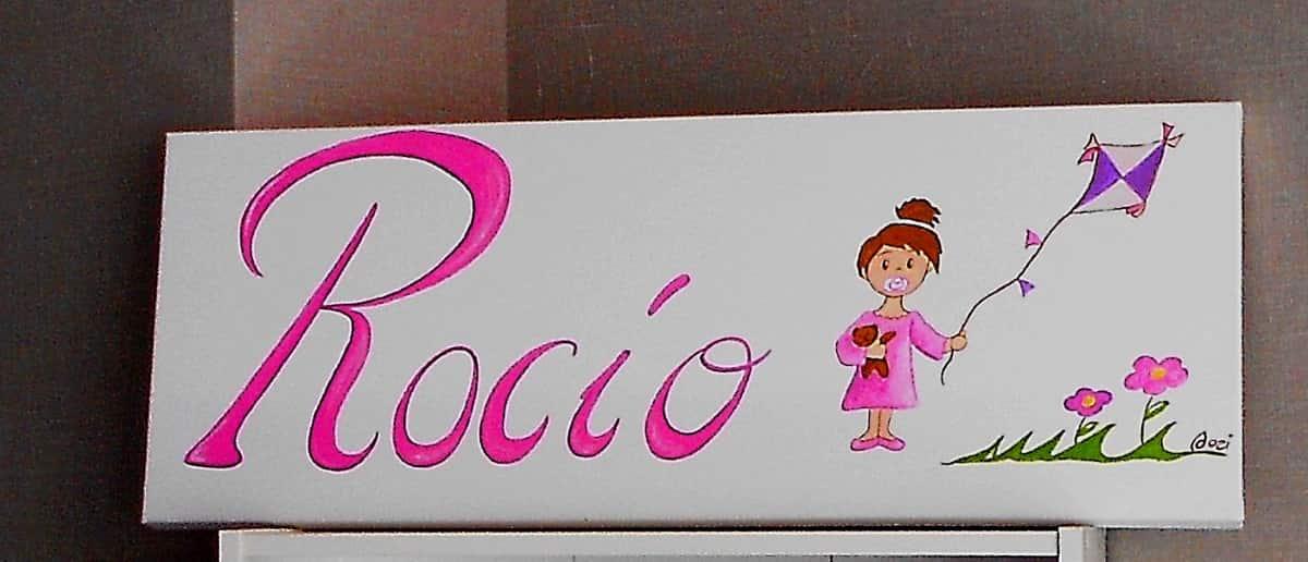 ▷ Cuadros Infantiles personalizados con nombre - Crehadas