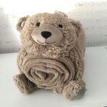 Manta sofá oso 1