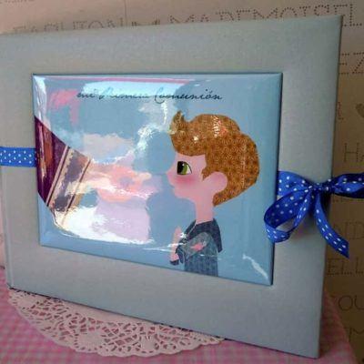 Álbum Niño Azul Claro
