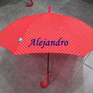 Paraguas con nombres de colores