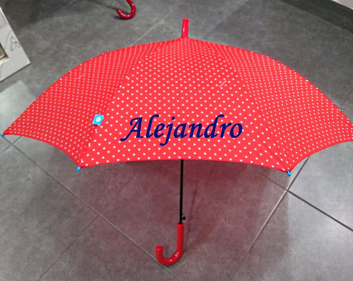 Paraguas Personalizados pintados y bordados