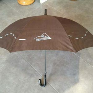 Paraguas de colores Avión de Papel