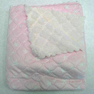 Mantas de bebé borreguito – Rosa