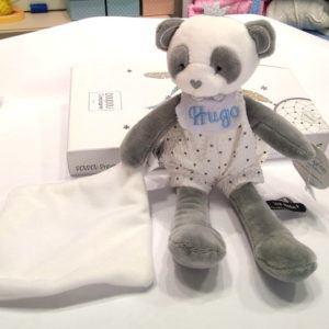 Dou dou personalizado  de oso panda
