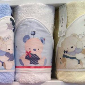 Capas de baño para bebé