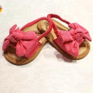 Zapatos sandalia rosas