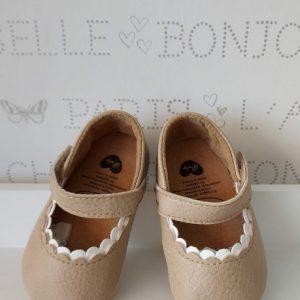 Zapatos pulsera color maquillaje